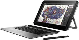 "HP ZBook x2 G4 14"" 4K UHD Touchscreen+Active Pen Business Laptop Tablet(Intel Quad-core i5-8250U, 8GB RAM, 256GB SSD) Thunderbolt 3, HDMI, Backlit, Windows 10 Pro"