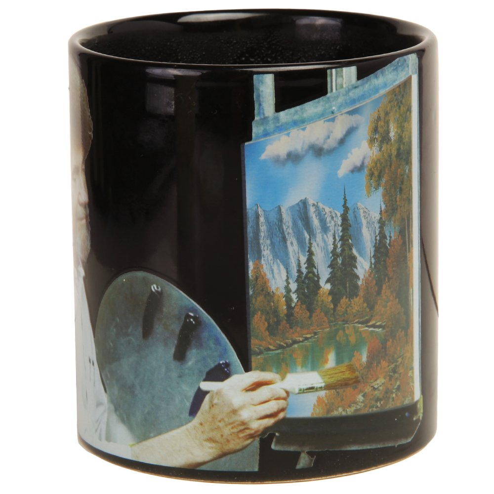 Bob Ross Heat Activated Canvas 16 oz. Coffee Mug by Classic Imports (Image #4)