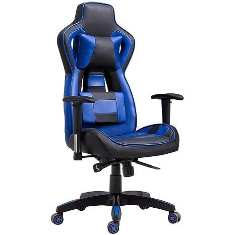 Delman – Silla de Oficina Racing – Silla de Oficina Escritorio – Silla Gaming Chair Silla