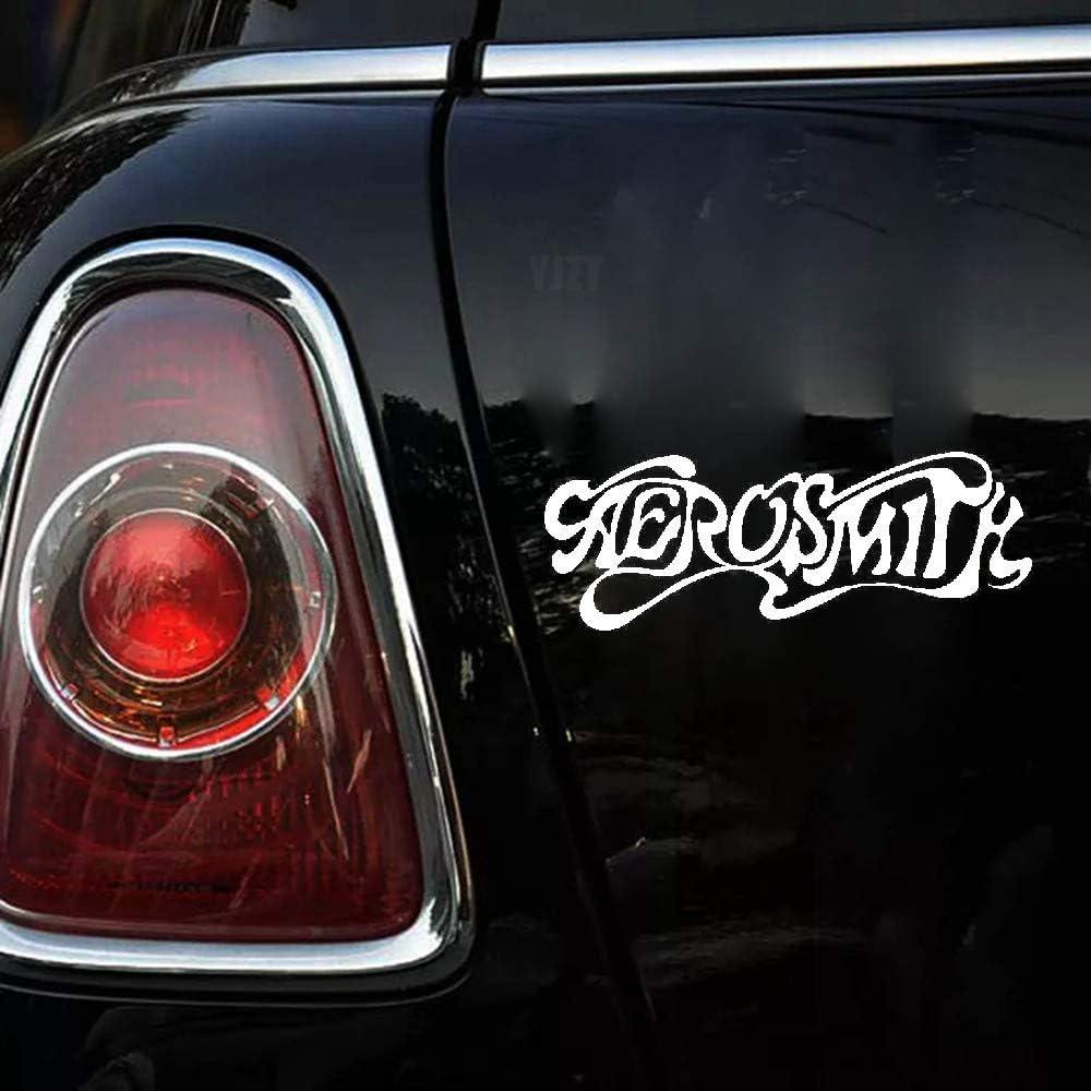 Makirt 17.8cm x 6.5cm Aerosmith Sticker car Decals for car Laptop Window Sticker