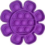 Push Pop Bubble Sensory Toy Stress Toys Reliever Autism Toy, Flower