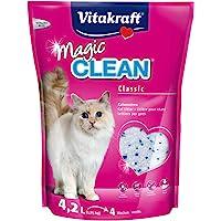Vitakraft Magic Clean 15525 żwirek dla kotów 4 tygodnie
