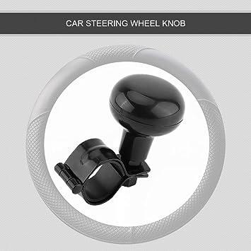 Universal Car Heavy Duty Steering Wheel Knob Spinner Handle Auto//Tractor Knob Black
