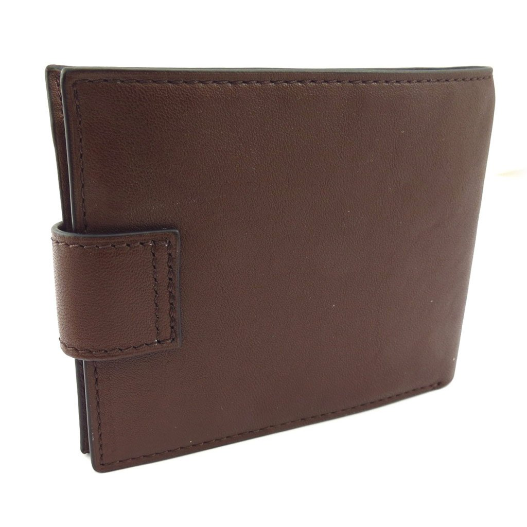 Wallet italian Ted Lapidus brown.