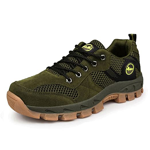 Men's Top Quality Outdoor Breathable Mesh Hiking Shoes Trekking Shoes Casual Lightweight