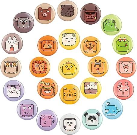 Emoji Magnet Frigo 3D Aimant 25PCS Smilely R/éfrig/érateur Mignonne Dr/ôle Convient /à la D/écoration des R/éfrig/érateurs Tableaux Blancs et Autres Surfaces M/étalliques Le Choix pour Donner des Cadeaux