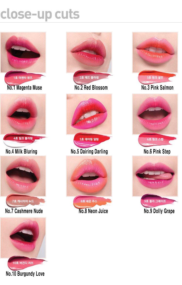 Laneige Two Tone Lip Bar 2g 1 Magenta Muse Beauty Novo Eyeshadow Slider Stick Ombre Colour