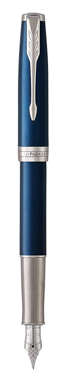laccatura di colore rosso con finiture in oro pennino sottile 18 K Confezione regalo PARKER Sonnet penna stilografica