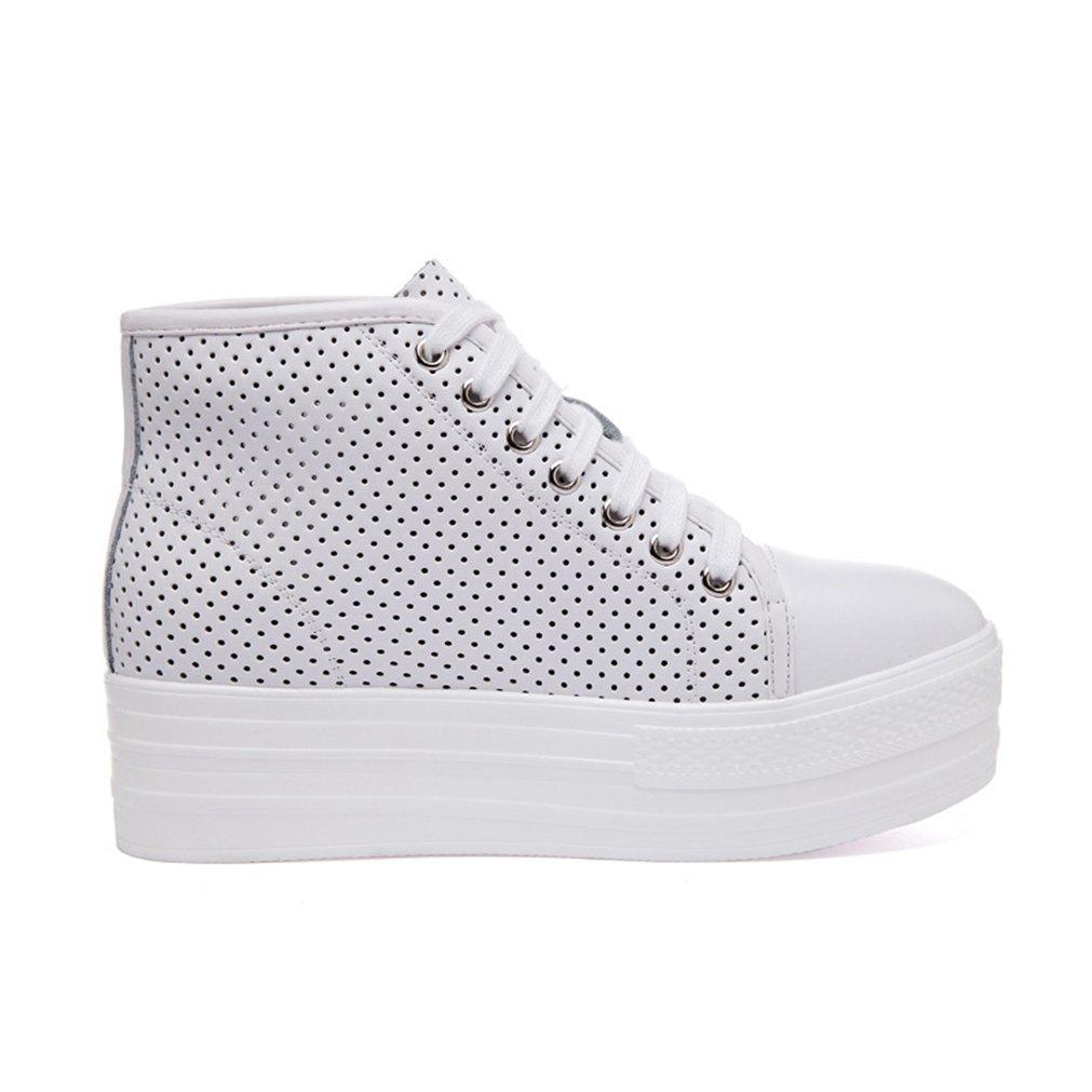 JRenok Zapatillas Altas Mujer 38 EU|blanco En línea Obtenga la mejor oferta barata de descuento más grande