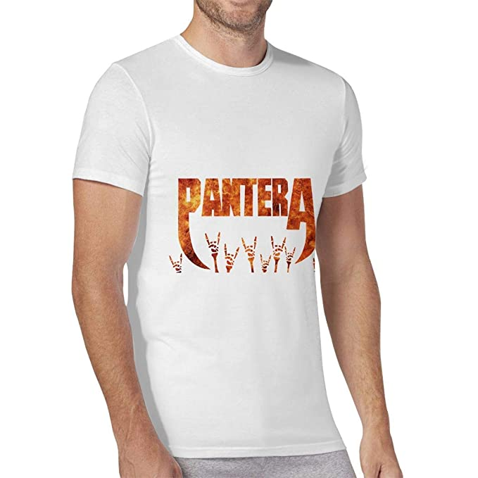 Amazon com: New Pan-tera Band Men's Short Sleeve T Shirt
