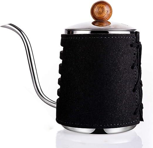 Amazon.com: SULIVES - Cafetera para hacer café o té sin asas ...