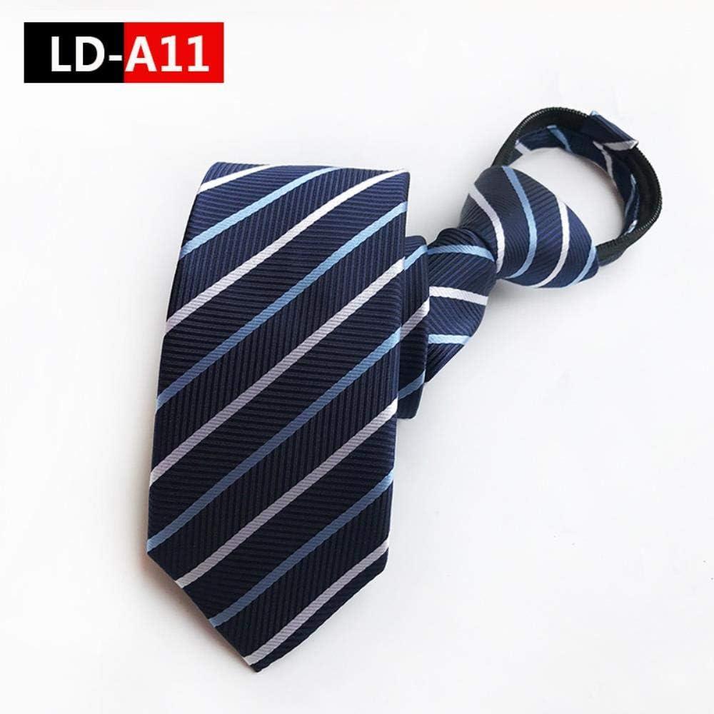 Más Vendido Gran Venta VLOU Tie Men's Commercial Formal Suit Necktie Striped Male Wedding Narrow Tie,LD-A06 Ld-a15 KGzwZI 1rw5mY