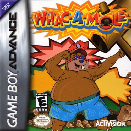 Whac-A-Mole - Game Boy Advance