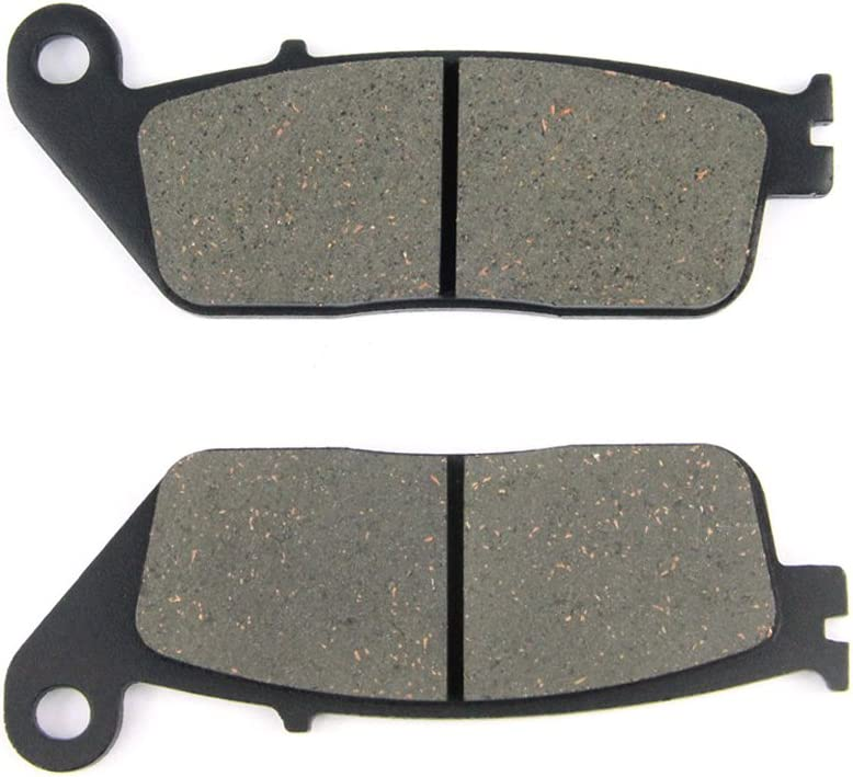 2017-2018 Non ABS//ABS SOMMET Motorcycle Front Brake Pads Disc 1 pair for Kawasaki KLE 300 Verseys X300