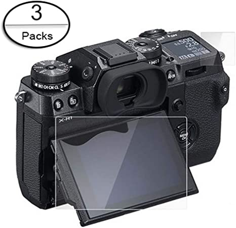 "Screen Protector for 3/"" Fujifilm X-H1 Mirrorless Camera Body VPB-XH1-3 Pack"