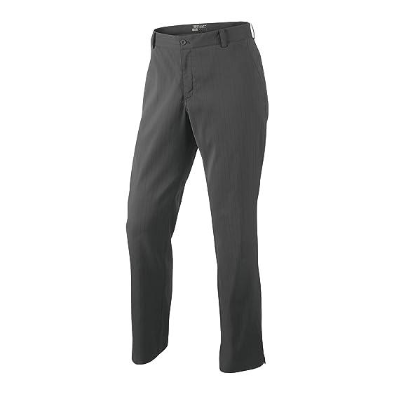 Nike Mens Dri-Fit Stripe Novelty Golf Pants Dark Gray