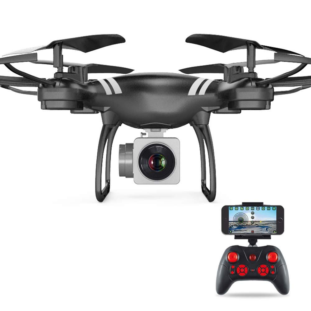 CYCTECH Wide Angle Lens HD Camera Quadcopter RC Drone WiFi FPV Live Helicopter Hover, Drone with Headless Mode, One-Button 360° Flip, Controllable Light, and 10 Minutes Flying Time by CYCTECH
