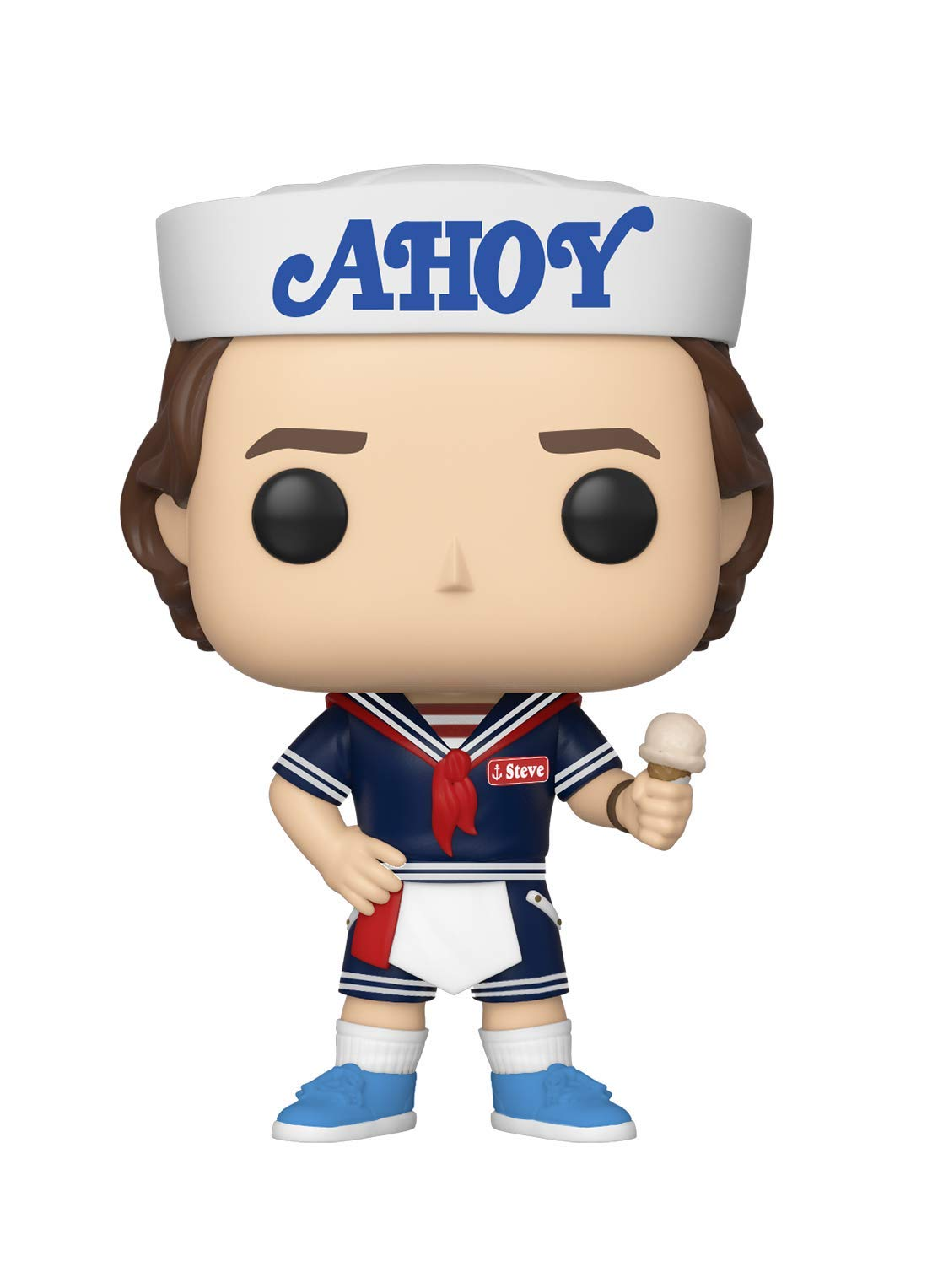 Funko Pop! Television: Stranger Things - Steve with Hat & Ice Cream by Funko