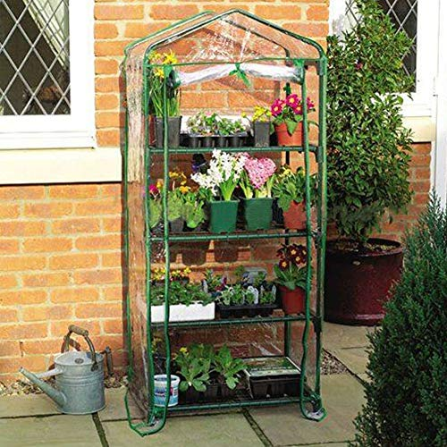 "FORUP Mini Greenhouse 4 Tier, 27"" L x 19"