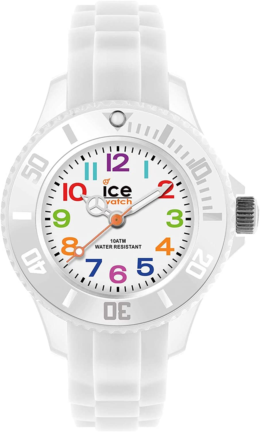 Ice-Watch - ICE mini White - Reloj bianco para Niño (Unisex) con Correa de silicona - 000744 (Extra small)