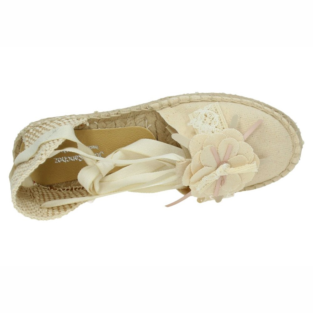 MADE IN SPAIN 1550433 Esparteña Blanca Niña Zapato Comunión Blanco 33: Amazon.es: Zapatos y complementos