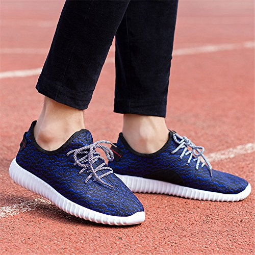 FeeBee Casual Athletic Sneakers Blue Fashion Breathable OOqS8r