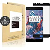 OnePlus 3/OnePlus 3T,[2 PACK] Linboll Tempered Glass Screen Protector (Full Screen Coverage),[Easy Installation][Bubble Free] for OnePlus 3/OnePlus 3T black