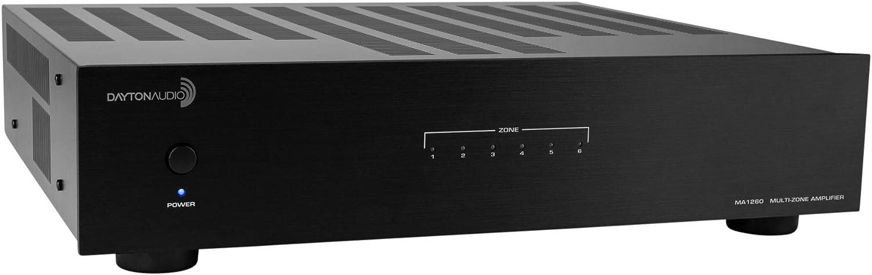 Dayton Audio MA1260 Multi-Zone 12 Channel Amplifier 60WPC