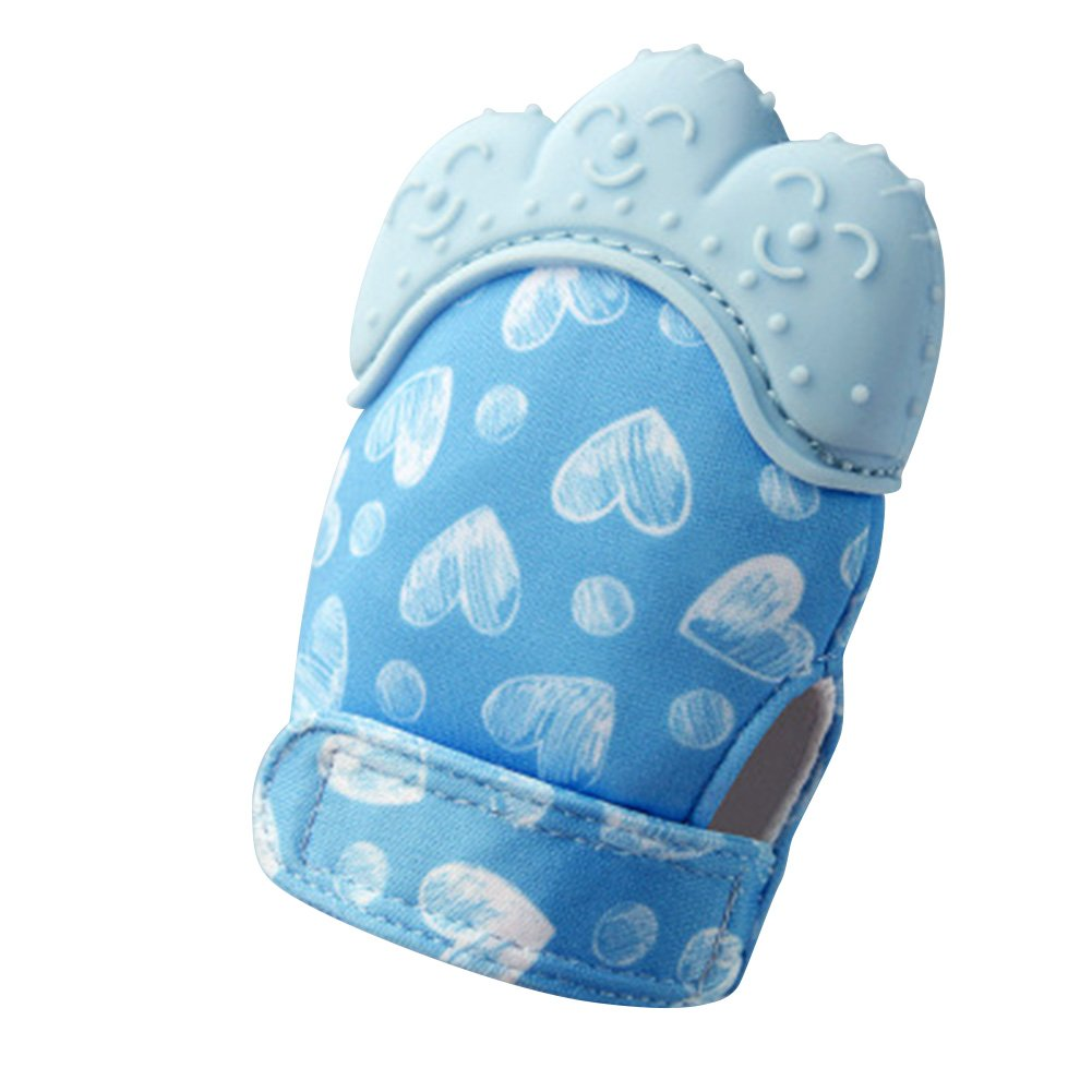 H27 Christ For Givek Multicolored Baby Mittens Mittens Glove Soothing Pain Relief-Age 3-12 Months Protect Baby Hands Adjustable Strap