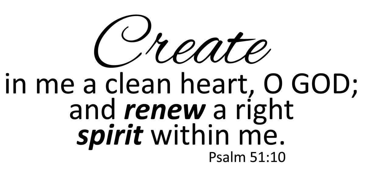 Image result for psalm 51:10
