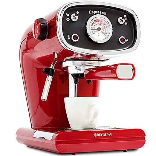 Retro Cafetera con bomba profesional, máquina de espresso con 15 ...