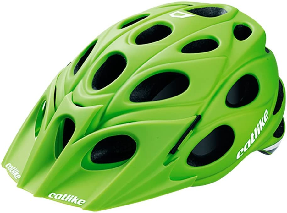 Catlike Leaf - Casco de Ciclismo, Color Verde Mate, Talla MD (54 ...