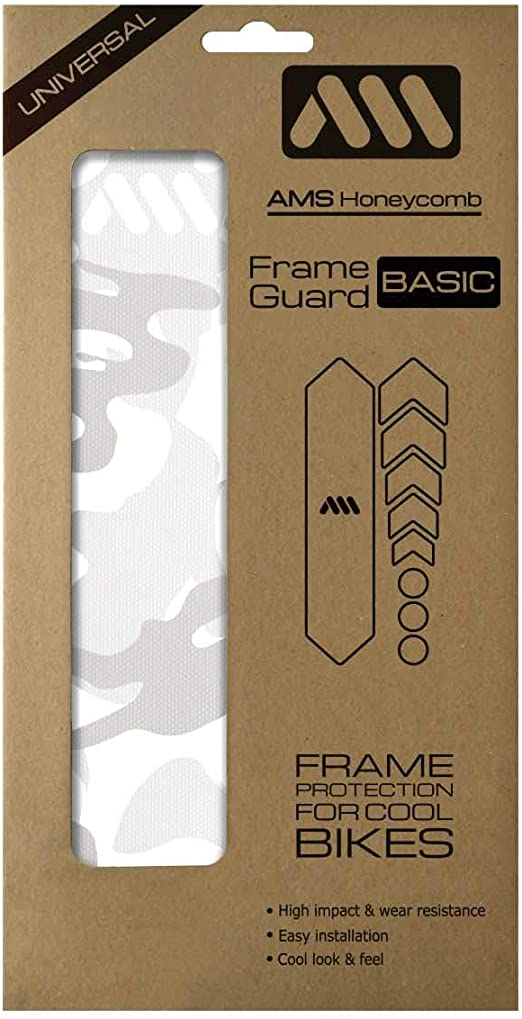 All Mountain Style AMS Frame Guard  Protection Stickers Clear//Cheetah