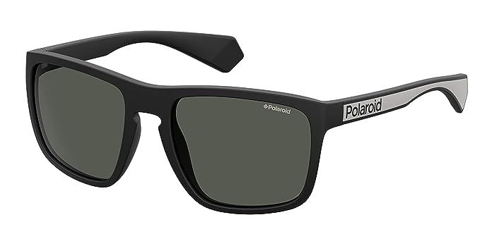 Polaroid PLD 2079/S Gafas de Sol, Multicolor (Mtt Black), 57 para Hombre