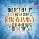 Stravinsky: Chant funŠbre; Le Sacre de Printemps