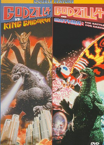 Godzilla vs. Monarch Ghidorah / Godzilla & Mothra: The Battle for Earth (Double Feature)
