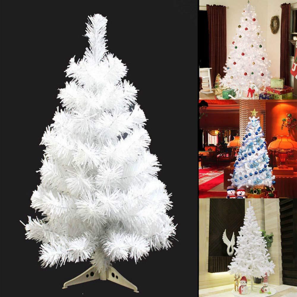 Decorations De Saison Home Holic Sapin De Noel Blanc Sapin