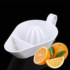 Lemon Squeezer Plastic , New Design Lemon Squeezer Plastic - Fruit & Vegetable Tools Convenient Fruit Tools White Hand Manual Squeezer Orange Lemon Juice Press Squeezer Citrus Juicer