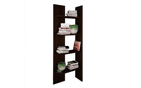 Libreria Ufficio Wenge : 333 libreria cameretta soggiorno ad angolo wenge: amazon.it: casa e