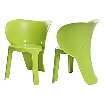 SoBuy KMB12 GRx2 Lot De 2 Chaise Enfant Design Pour Enfants Siege Garcons Et