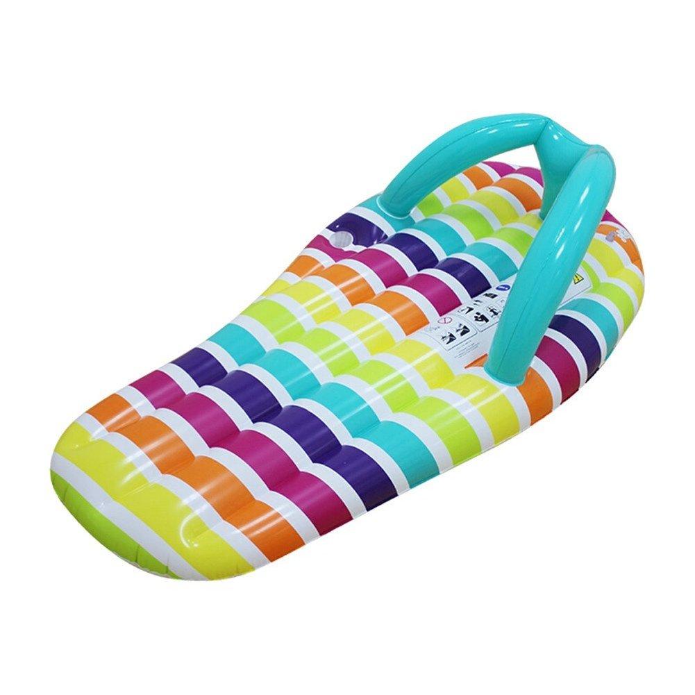 JX-WATER FLOATS Deslizadores inflables Cama Flotante Adulto Drift Fila Flotante niños natación Monta más Grueso reclinable Flotante cojín de Aire Tablero Flotante, A