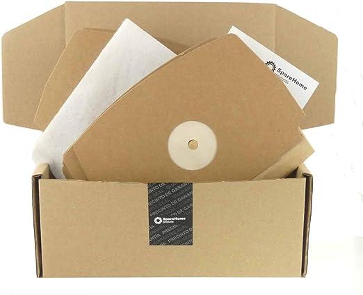 SpareHome® 10 bolsas para aspirador Electrolux Lux Royal: Amazon.es: Hogar