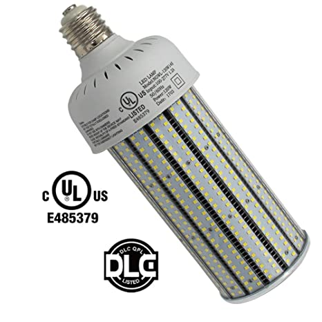 400W High Pressure Sodium Replacement LED Corn Light Bulbs 120 Watt Dustproof Parking Lot Fixture Retrofit