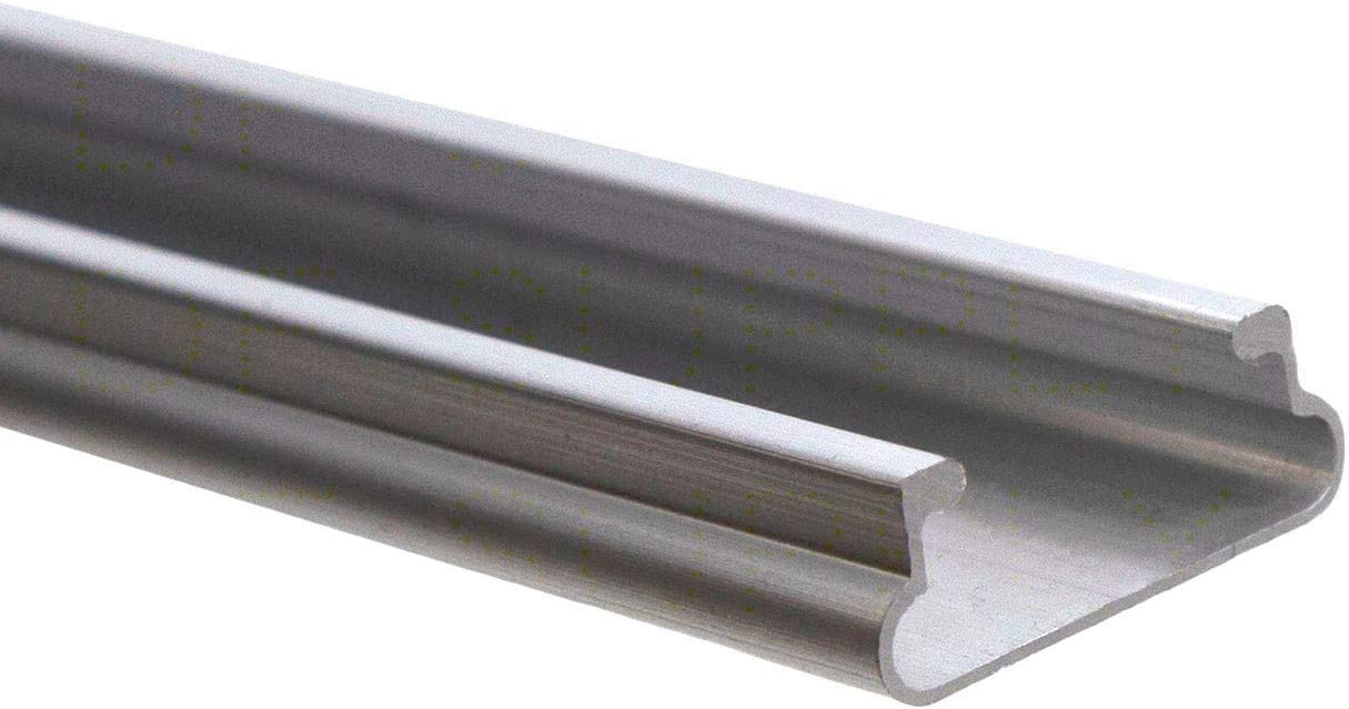 - JWC66A Jiggly Greenhouse Aluminum Lock U-Channel Only 50 Pack 6.5 ft.