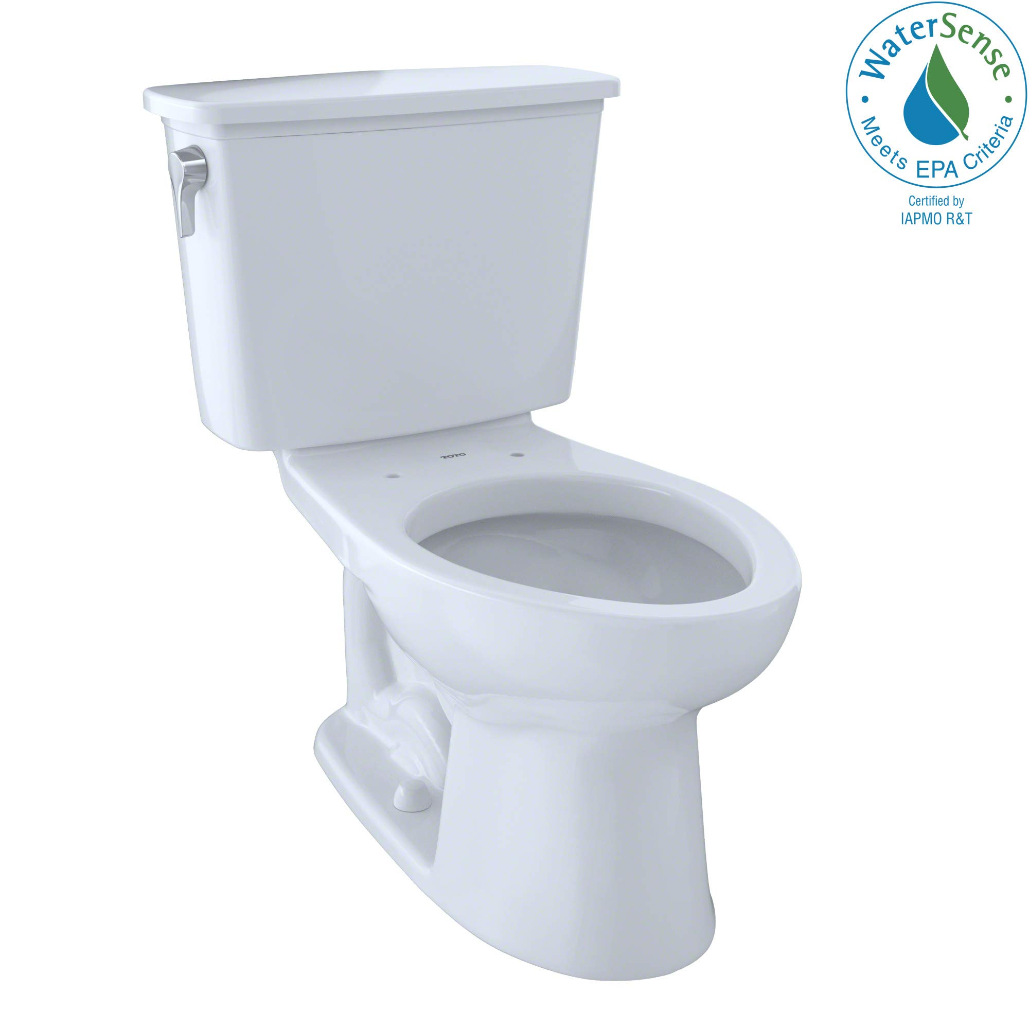 Toto CST744EGN#01 Eco-Drake Sanagloss Elongated Toilet, Cotton by TOTO