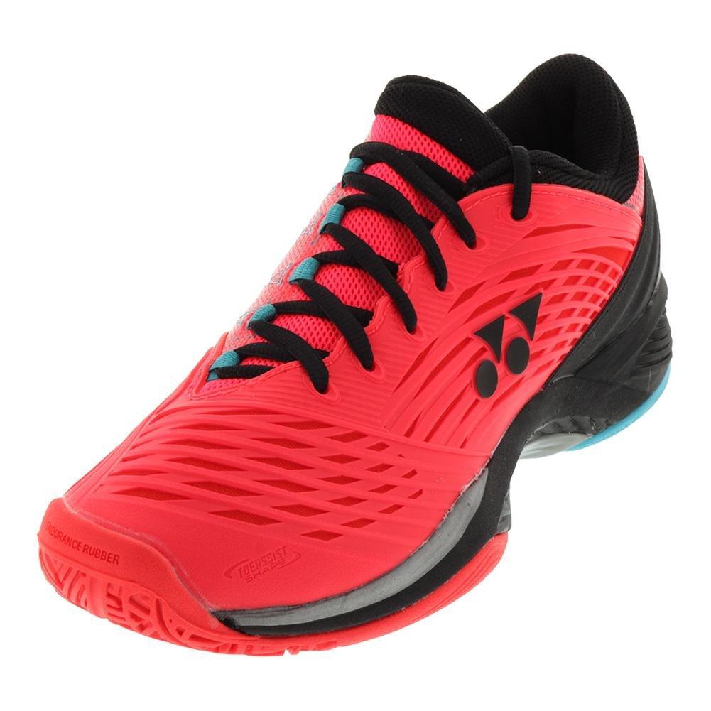 Yonex Men`s Power Cushion Fusionrev 2 Tennis Shoes Coral Red-() B078XNN7W4 11.5 D(M) US
