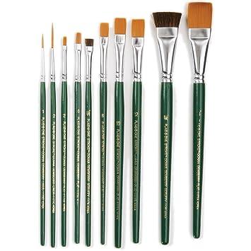 Amazon one stroke brush set 1059 10 pack one stroke brush set 1059 10 pack prinsesfo Gallery