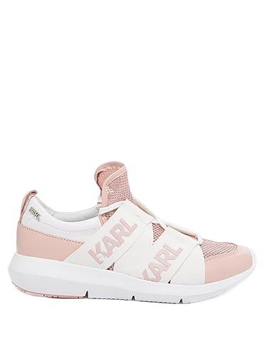 new arrival 0a69c 0b785 Karl Lagerfeld Schuhe Damen Sneaker KL61120 Pink Rosa Rose ...