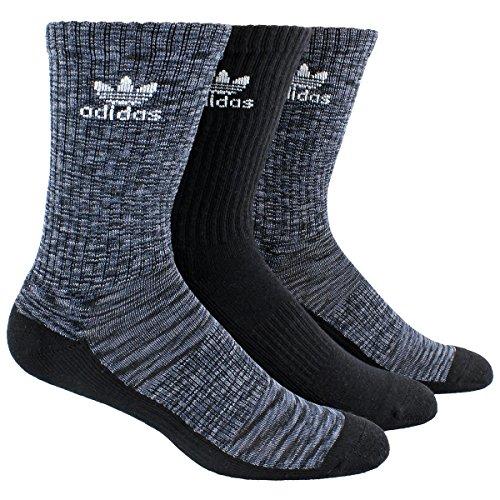 3pk Sport Crew Socks - 8