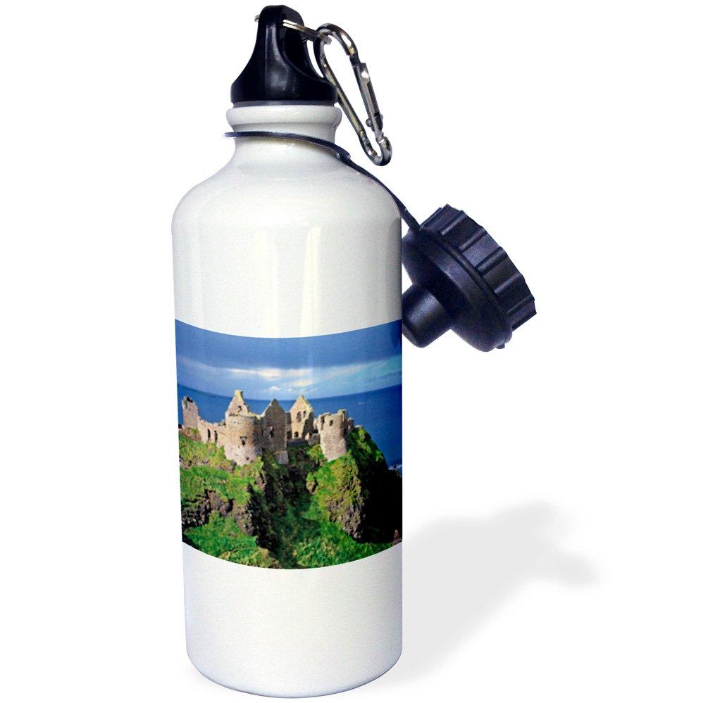 21 oz County Antrim Northern Ireland EU15 RER0005 Ric Ergenbright Sports Water Bottle White 3dRose wb/_82011/_1Dunluce Castle